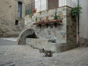 fontaine de la place